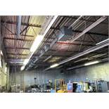 General Electric Buss Bar, Approx. 50'L with (17) Plugs (Located in Levittown, PA Facility)(There