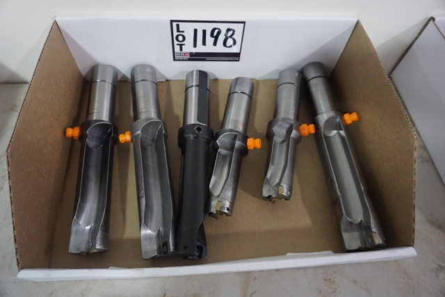 Lot 1198 - Assorted Carbide Insert Indexable Dills