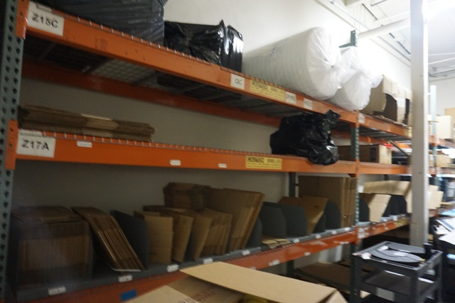 Lot 1183 - 7 Sections of Pallet Racking *No Content*