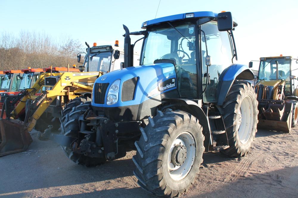 4 Door Tractor : New holland ts a cc door tractor reg no sv bfy d