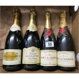 4 bottles of Champagne to include Moet