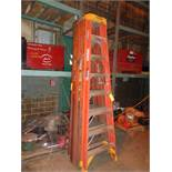 Lot of 3 - 8ft Ladders