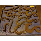 Lot of 20 Riggers Hooks (#520)