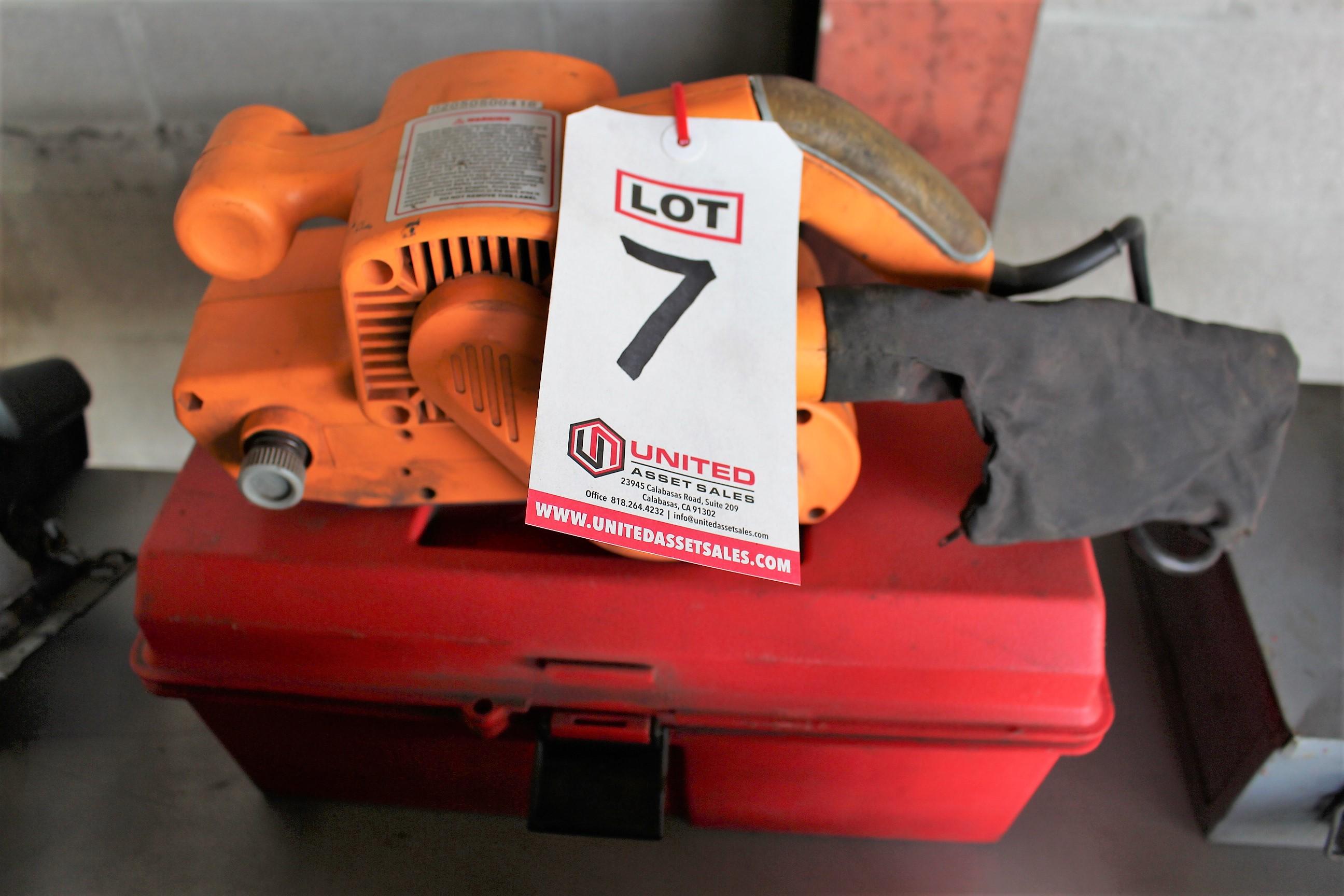 """Lot 7 - CHICAGO 3"""" BELT SANDER"""