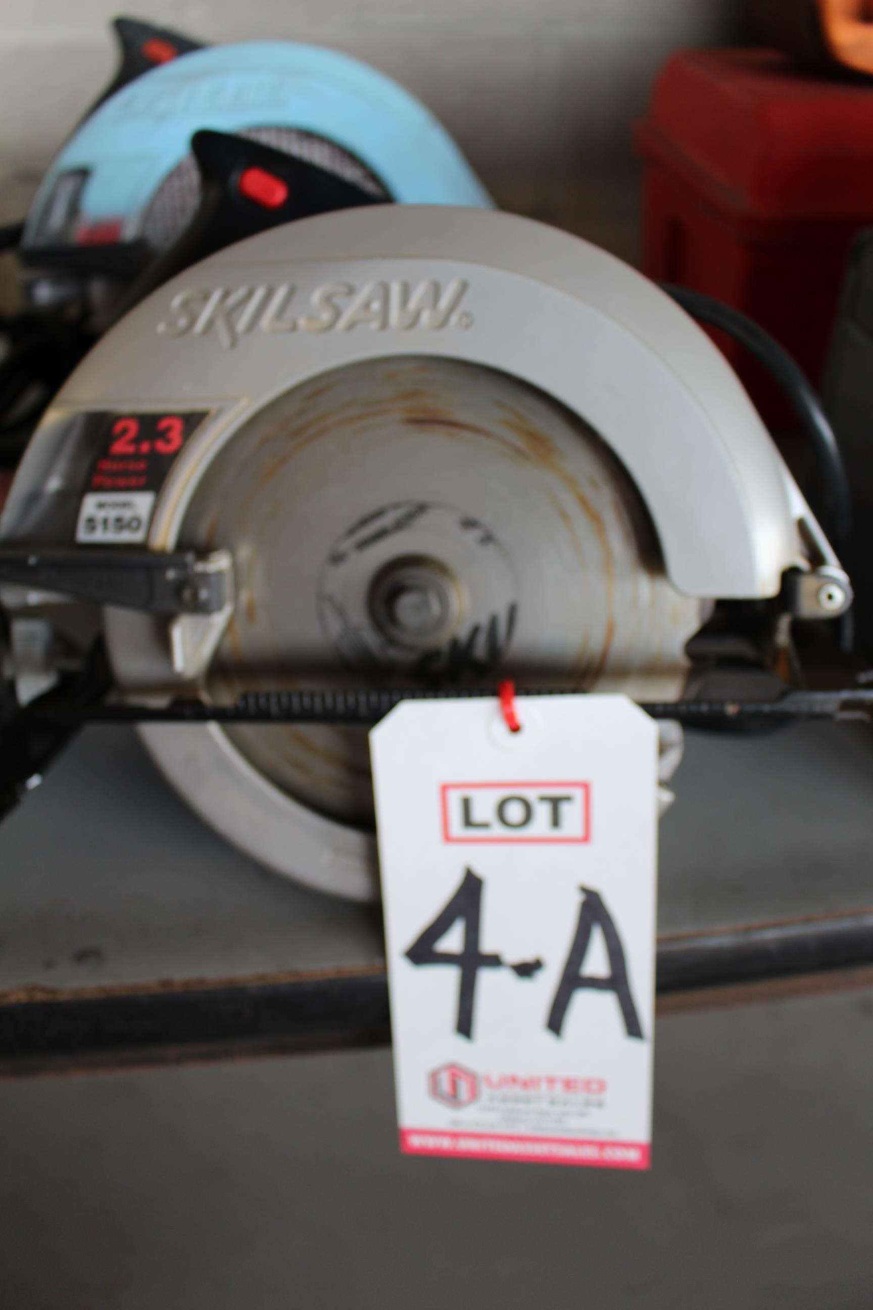 "Lot 4A - SKILSAW 1-1/4"" CIRCULAR SAW"