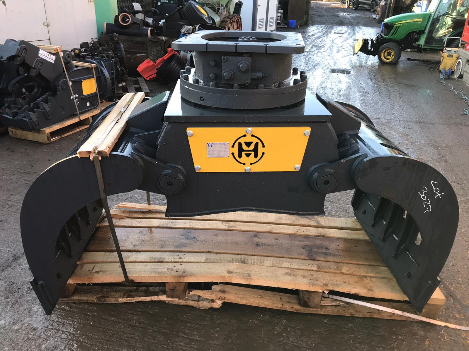 MUSTANG GRP1000 ROTATING GRAPPLE, YEAR 2019, NEW AND UNUSED - TO SUIT 13-19 TON EXCAVATOR *PLUS VAT* - Image 2 of 6