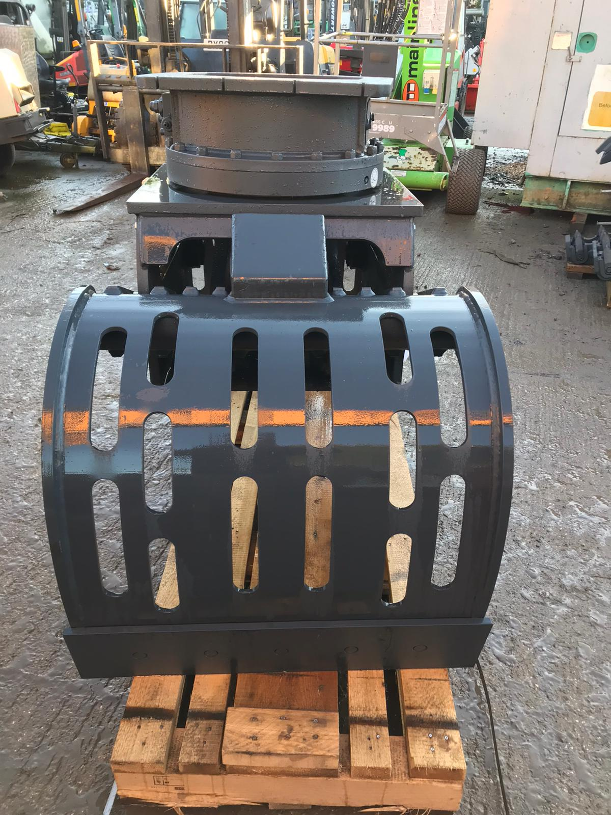 MUSTANG GRP1000 ROTATING GRAPPLE, YEAR 2019, NEW AND UNUSED - TO SUIT 13-19 TON EXCAVATOR *PLUS VAT* - Image 4 of 6