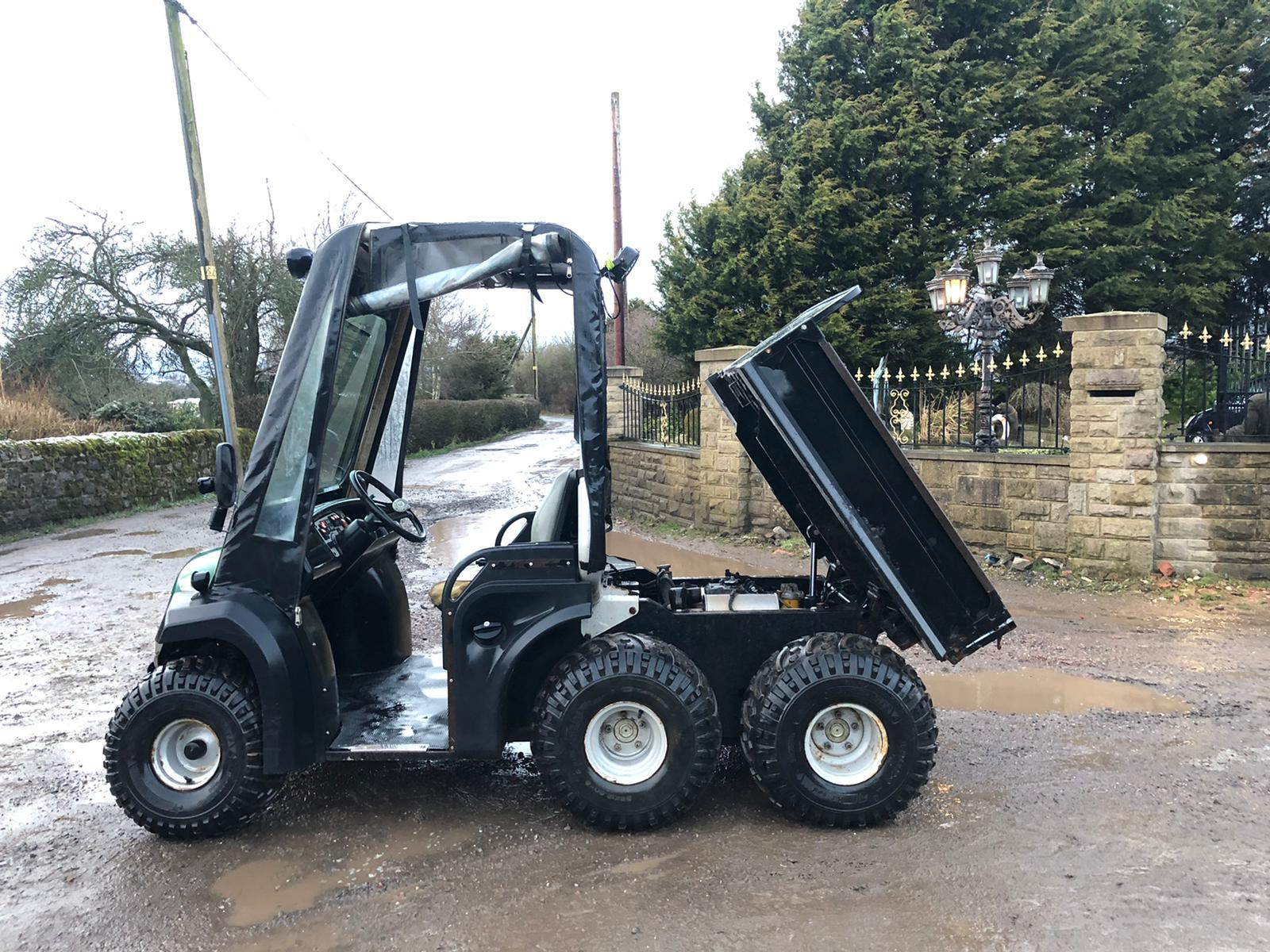 JCB 6X4 GROUNDHOG, YEAR 2008, RUNS, WORKS, TIPS, HYDRAULIC TIPPING BACK, DIFF LOCK, TOW BAR *NO VAT* - Image 3 of 6