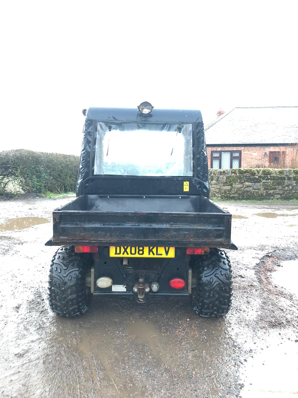 JCB 6X4 GROUNDHOG, YEAR 2008, RUNS, WORKS, TIPS, HYDRAULIC TIPPING BACK, DIFF LOCK, TOW BAR *NO VAT* - Image 4 of 6