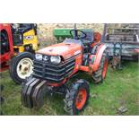 KUBOTA B2110 HST COMPACT TRACTOR 4WD, SHOWING 1189 HOURS, AGRICULTURAL TYRES *PLUS VAT*
