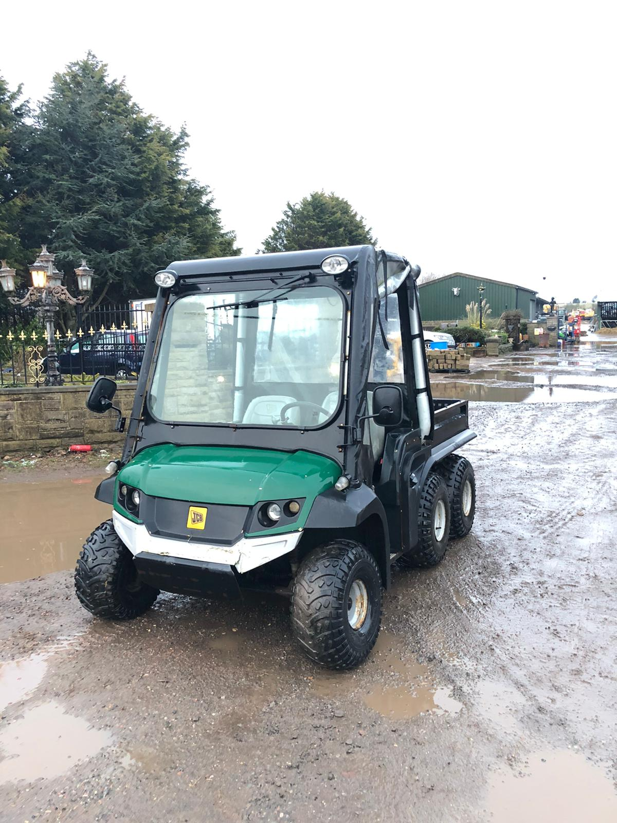 JCB 6X4 GROUNDHOG, YEAR 2008, RUNS, WORKS, TIPS, HYDRAULIC TIPPING BACK, DIFF LOCK, TOW BAR *NO VAT* - Image 2 of 6