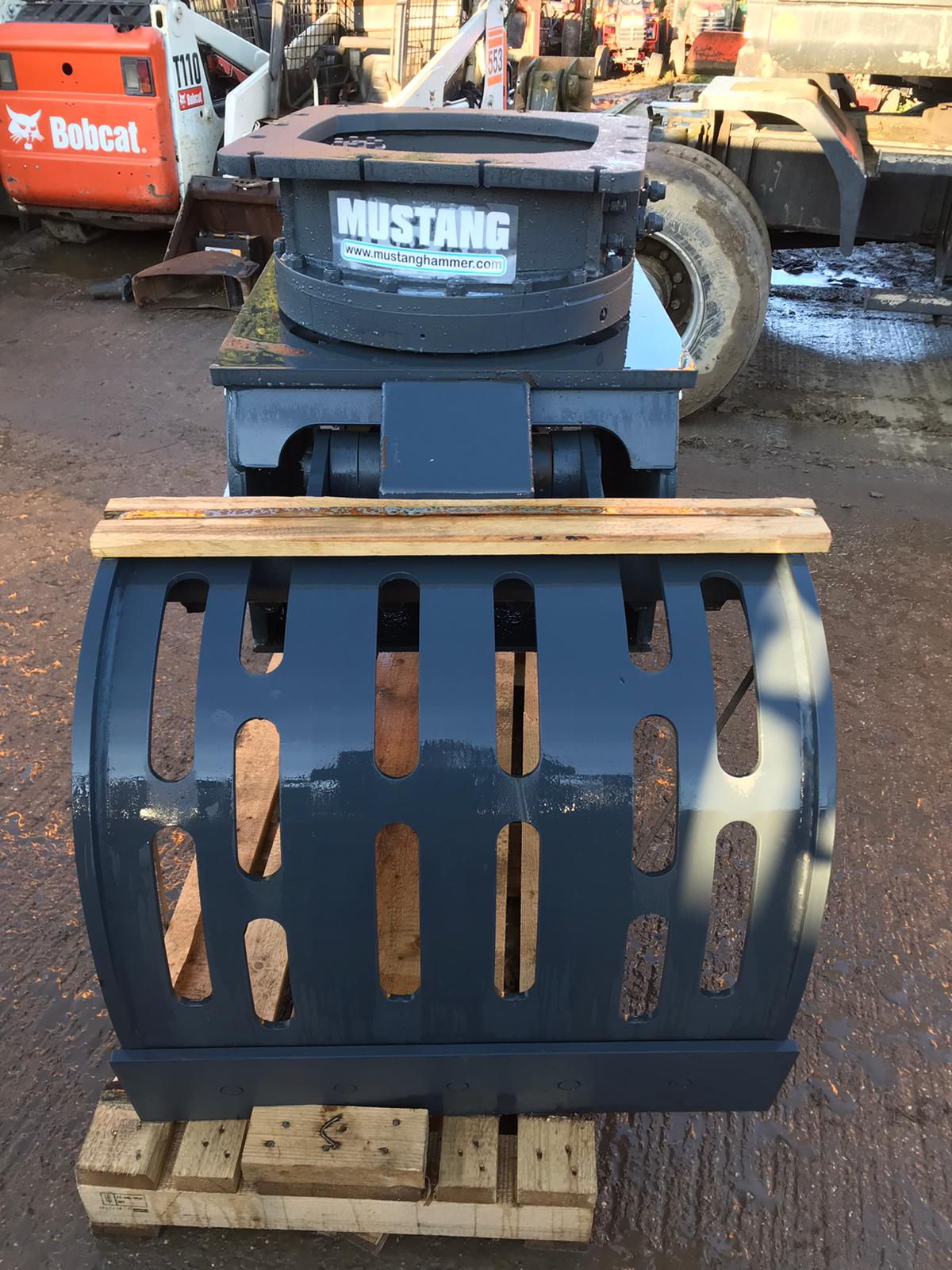 MUSTANG GRP1000 ROTATING GRAPPLE, YEAR 2019, NEW AND UNUSED - TO SUIT 13-19 TON EXCAVATOR *PLUS VAT* - Image 5 of 6