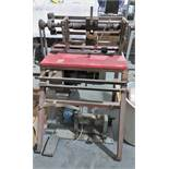 WIRE DRAWING MACHINE; 1/9 RATIO; 1.5 HORSEPOWER; MOTOR: SN6973 [A#49][LOCATED IN Kiryat Malachi]