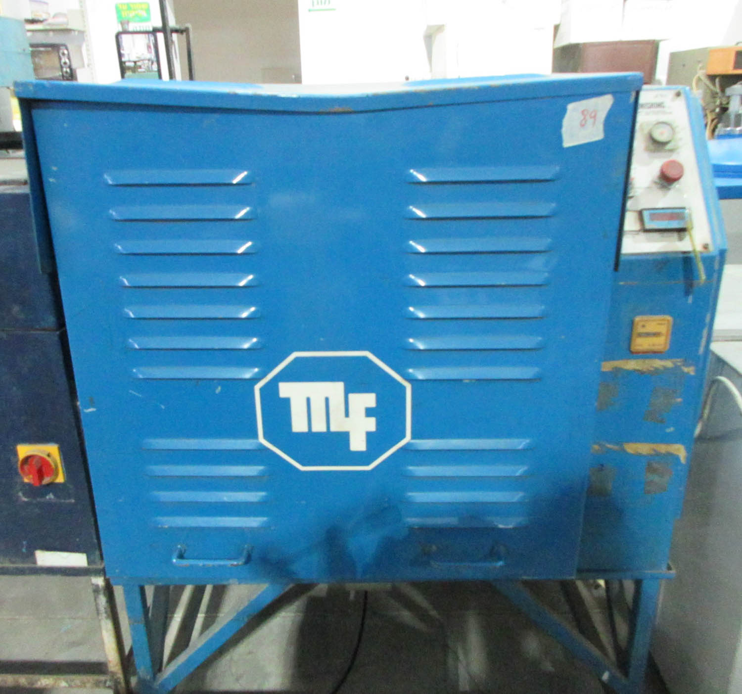 Lot 24 - METALFINISHING MDL. ROLLFAST MF 40 TUMBLING MACHINE; 4 TUBES; EACH TUBE 20X24CM [A#89][LOCATED IN