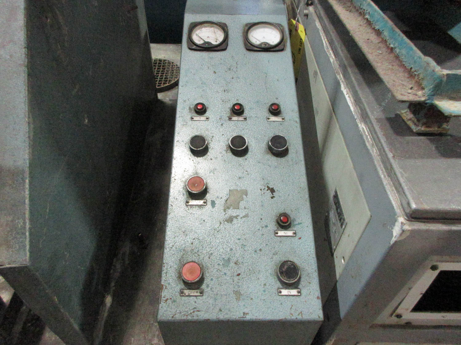 CUSTOM CASTING MACHINE; 9.5 DIAMTER POT [A#212][LOCATED IN Kiryat Malachi] - Image 2 of 2