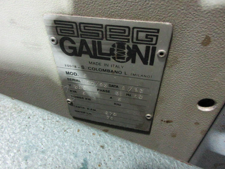 GALONI FUSOS MDL. S VACUUM CASTING MACHINE; 50 HZ; 380V; 3 PH; 5 KVA, S/N: 177-93 (1993) [A#214][ - Image 3 of 3