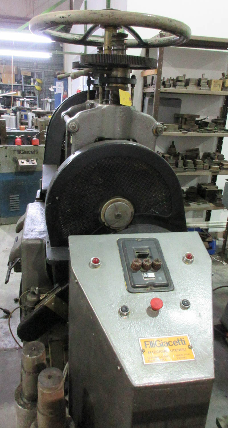 F. LLIGIACETTI MDL. LAMI 380 DOUBLE ROLLING MILL; TWIN SCREW; HAND-OPERATED; 380V; 50HZ; 3 PH, 29 CM - Image 3 of 4