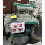PLATEN PRESS; HEATED; 26X26 [A#239][LOCATED IN Kiryat Malachi]