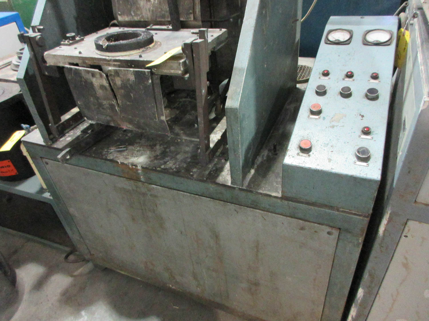 CUSTOM CASTING MACHINE; 9.5 DIAMTER POT [A#212][LOCATED IN Kiryat Malachi]