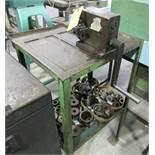 CUTTING MACHINE; CUSTOM HAND CIRCLE SHEARER [A#48][LOCATED IN Kiryat Malachi]