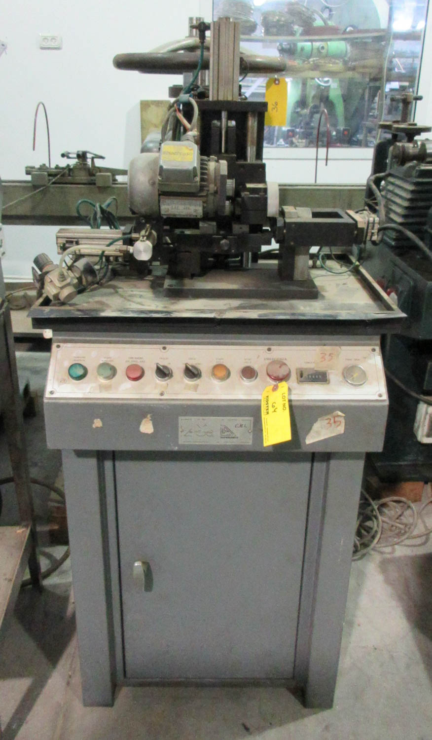 LORENZATO FINDING AND STAMPING MACHINE FOR STUD EARRINGS [A#35][LOCATED IN Kiryat Malachi]