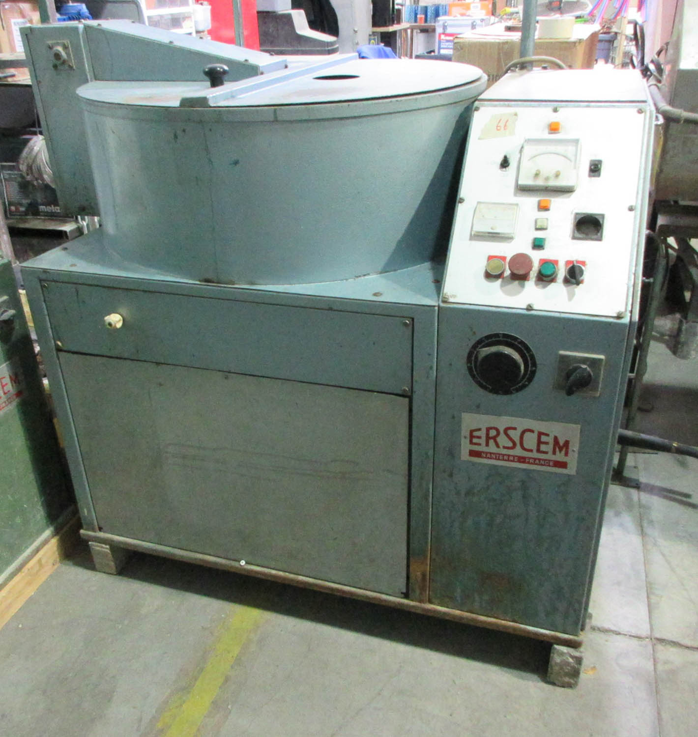Lot 10 - ERSCEM KILN MDL. UC-20 ULTRA CAST CASTING MACHINE; 84 CM DIAMETER, S/N: 461 (1989) [A#66][LOCATED IN