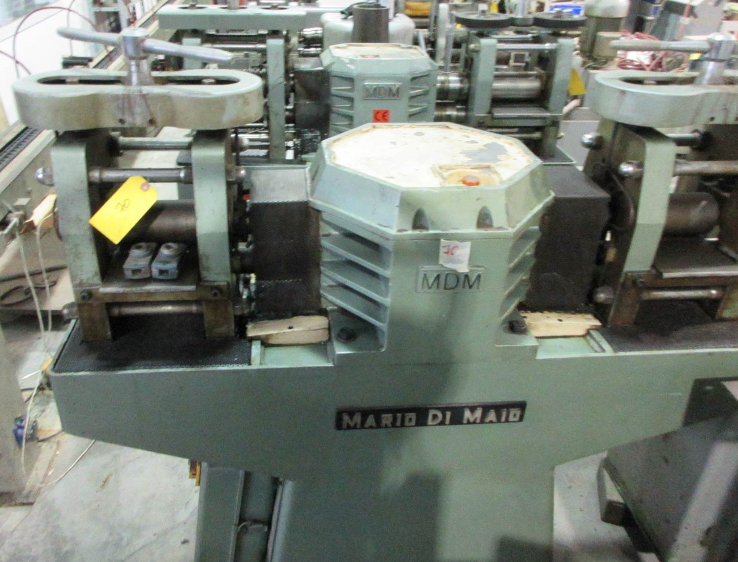 MARIO DI MAIO MDL. GLY60 AMBIL DOUBLE ROLLING MILL FOR PLATE AND WIRE REDUCTION; DOUBLE-SIDED PRESS; - Image 2 of 3