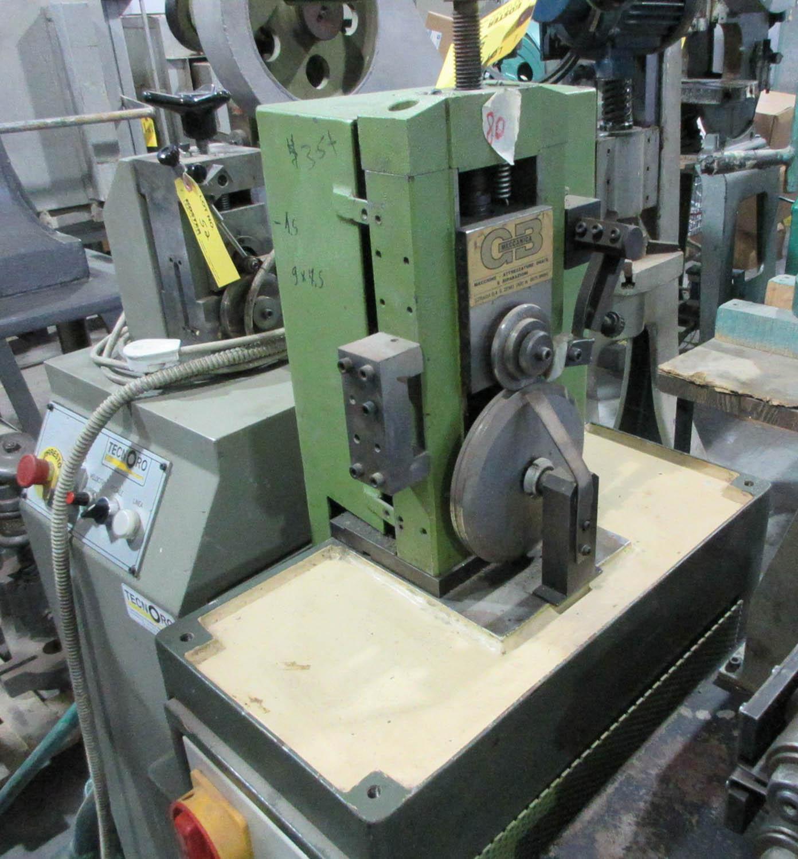 GB MECCANICA MDL. GALANDRA OVALE MACHINE FOR BRACELETS, OVAL AND ROUND; SCREWTYPE CIRCLE SHEARER