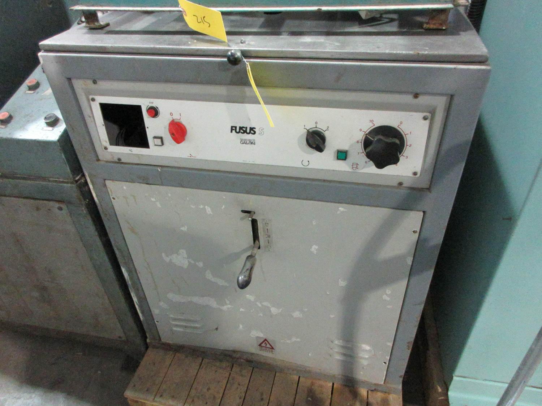 Lot 19 - GALONI FUSOS MDL. S VACUUM CASTING MACHINE; 50 HZ; 380V; 3 PH; 5 KVA, S/N: 177-93 (1993) [A#214][