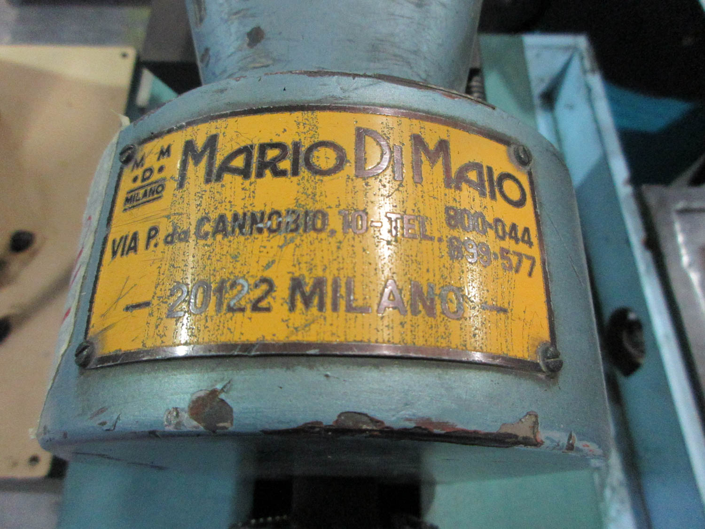 MARIO DI MAIO MDL. 3/80 B/4 CUTTING/SHEAR MACHINE; MOTOR INFO: 220V; .75KW; 50HZ; 1 HORSEPOWER, S/N: - Image 3 of 3