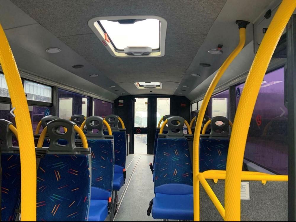 12 reg IRIS DAILY 65C17 MELLOR 11 SEAT BUS (LOCATION DUMFRIES) 1ST REG 05/12, 131454KM [+ VAT] - Image 5 of 6