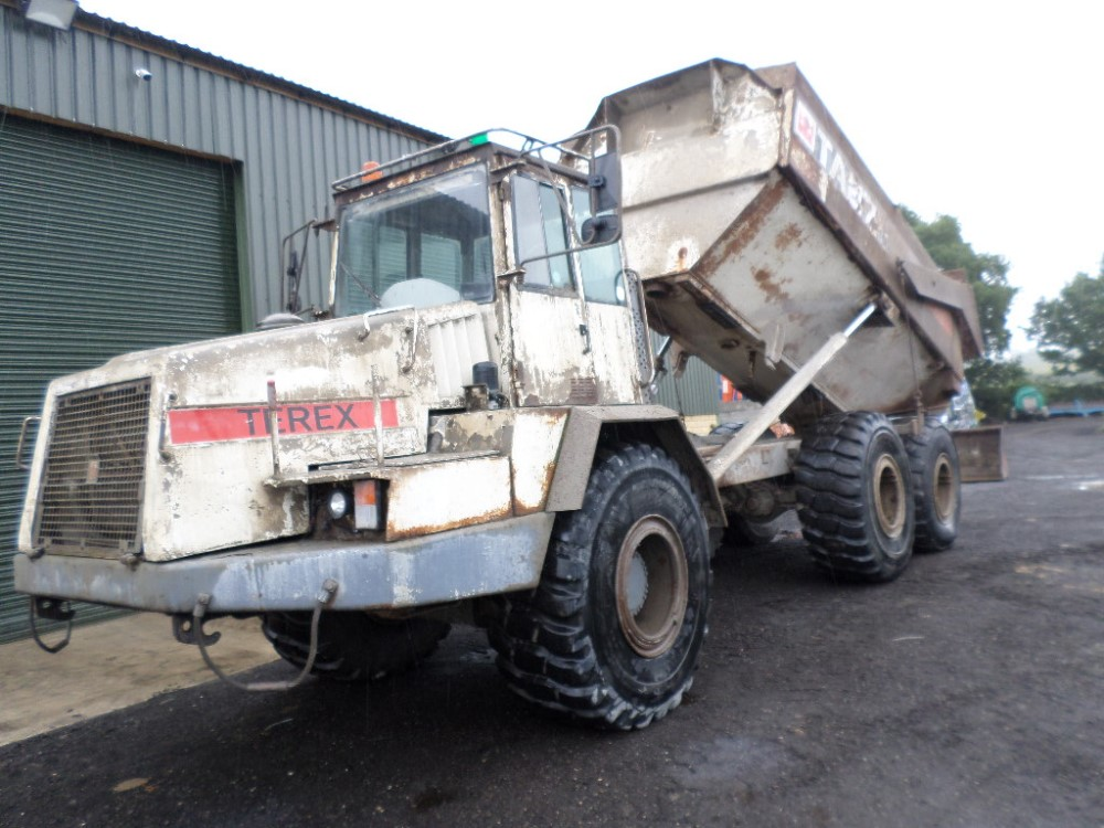 2001 TEREX TA27 6WD DUMPER (LOCATION SHEFFIELD) 2337 HOURS (RING FOR COLLECTION DETAILS) [+ VAT] - Image 2 of 9