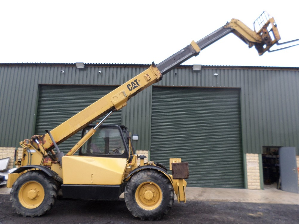 1999 CAT TH63 TELEPORTER (LOCATON SHEFFIELD) 5612 HOURS (RING FOR COLLECTION DETAILS) [+ VAT] - Image 6 of 13