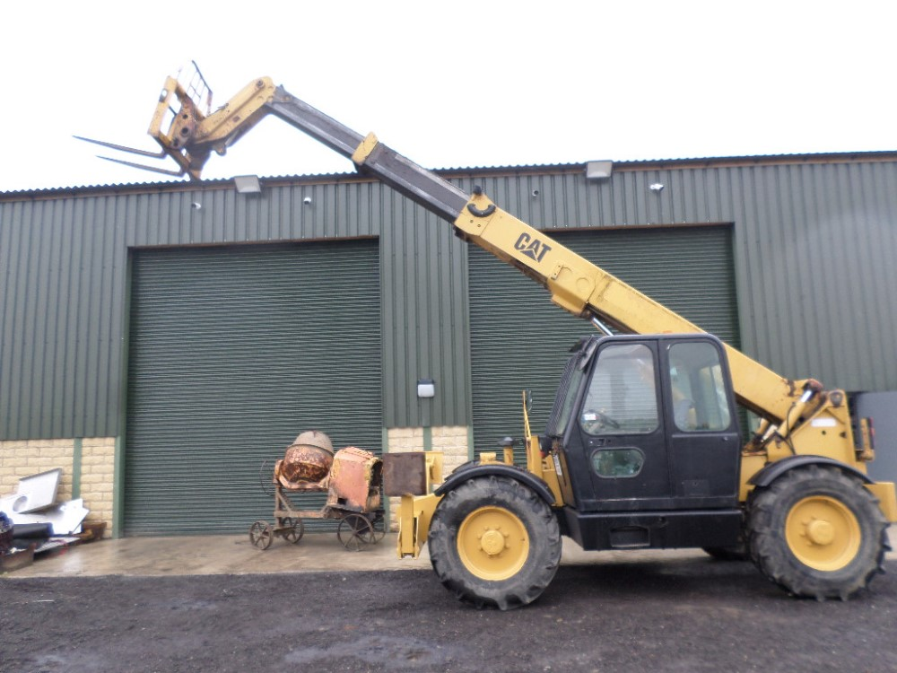 1999 CAT TH63 TELEPORTER (LOCATON SHEFFIELD) 5612 HOURS (RING FOR COLLECTION DETAILS) [+ VAT] - Image 5 of 13