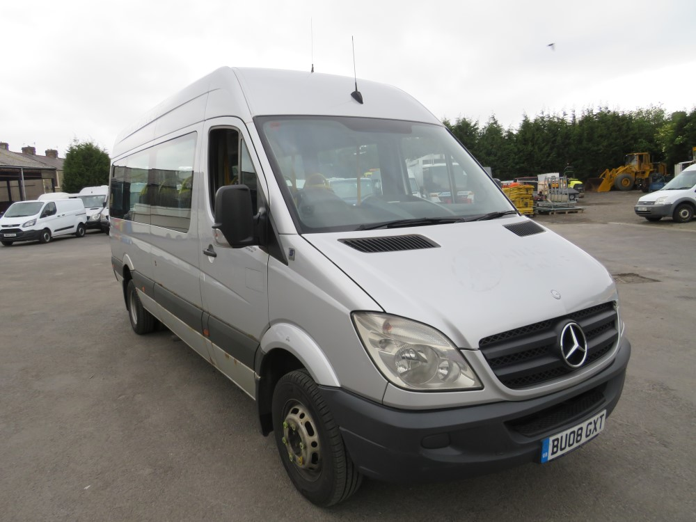 08 reg MERCEDES SPRINTER 511 CDI MINIBUS, 1ST REG 08/08, TEST 08/20, 588120KM, V5 HERE, 1 OWNER FROM