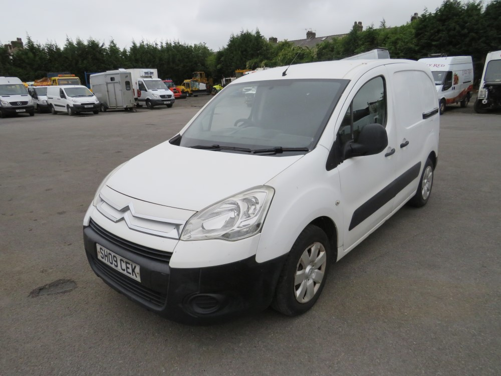 09 reg CITROEN BERLINGO 625 X HDI 75, 1ST REG 05/09, TEST 05/21, 142770M, V5 HERE [+ VAT] - Image 2 of 6