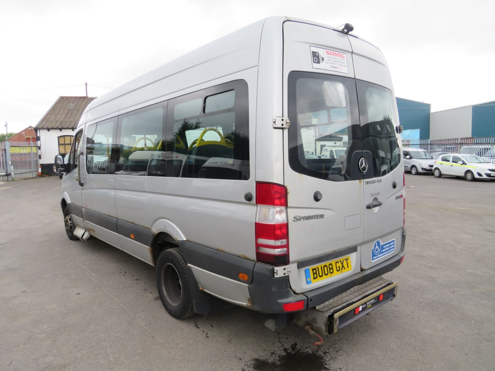 08 reg MERCEDES SPRINTER 511 CDI MINIBUS, 1ST REG 08/08, TEST 08/20, 588120KM, V5 HERE, 1 OWNER FROM - Image 3 of 6