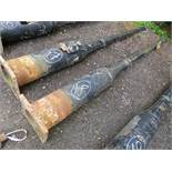1 X ORIGINAL CAST IRON LAMP POST (18) (DIRECT COUNCIL) [+ VAT]