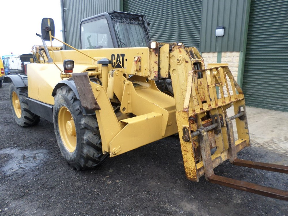 1999 CAT TH63 TELEPORTER (LOCATON SHEFFIELD) 5612 HOURS (RING FOR COLLECTION DETAILS) [+ VAT] - Image 3 of 13