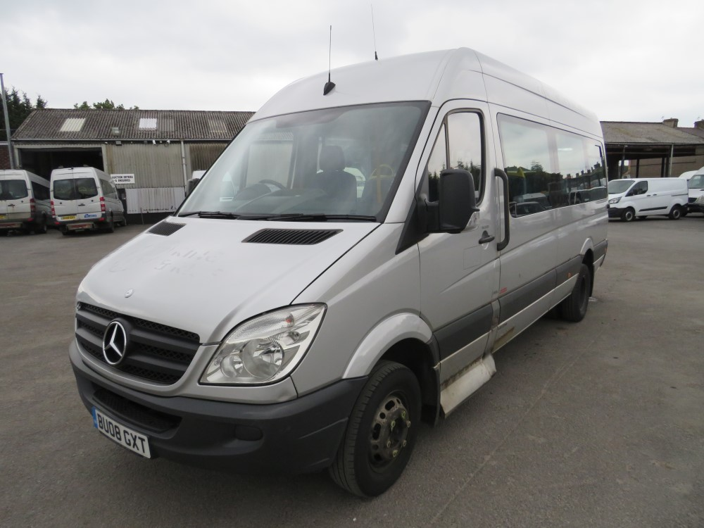 08 reg MERCEDES SPRINTER 511 CDI MINIBUS, 1ST REG 08/08, TEST 08/20, 588120KM, V5 HERE, 1 OWNER FROM - Image 2 of 6