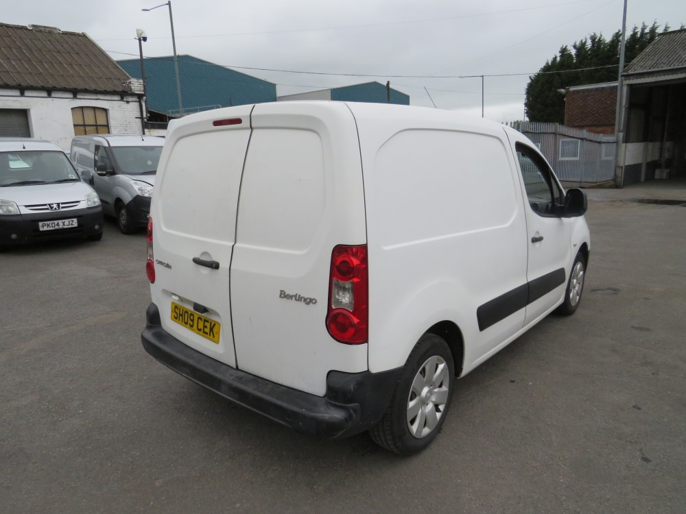 09 reg CITROEN BERLINGO 625 X HDI 75, 1ST REG 05/09, TEST 05/21, 142770M, V5 HERE [+ VAT] - Image 4 of 6