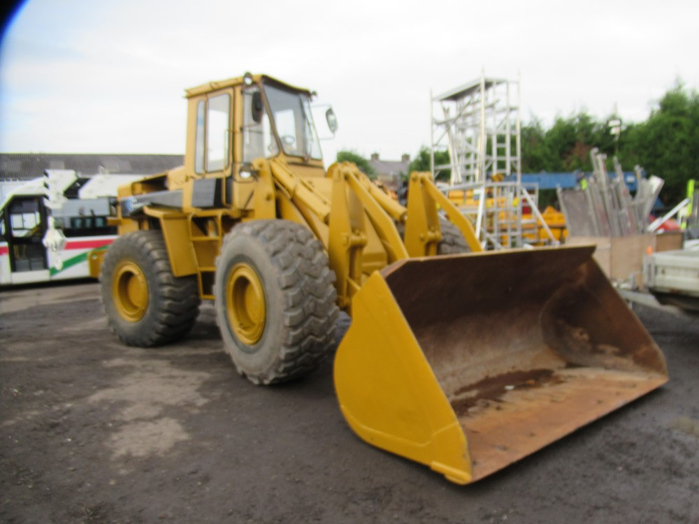 FIAT ALLIS 18t LOADING SHOVEL, 11409 HOURS NOT WARRANTED [+ VAT]