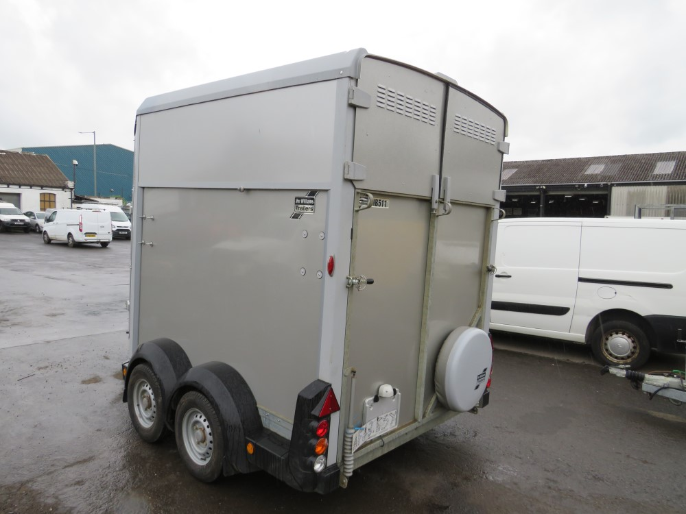 IFOR WILLIAMS HB511 HORSE TRAILER [NO VAT] - Image 3 of 5