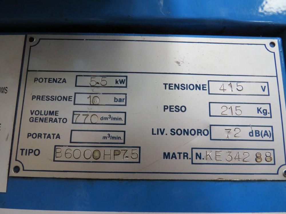 COMPAIR COMPRESSOR & TANK (DIRECT UNITED UTILITIES WATER) [+ VAT] - Image 4 of 5