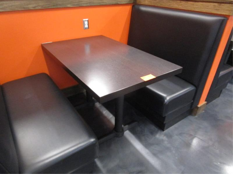 (6) Four Top Laminate Tables & (1) Two Top Table - Image 2 of 5