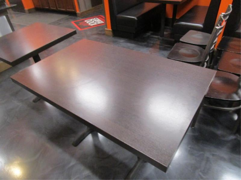 (6) Four Top Laminate Tables & (1) Two Top Table