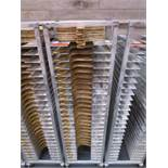 Sheet Pan Rack by Channel w/ Wood Pizza Peels