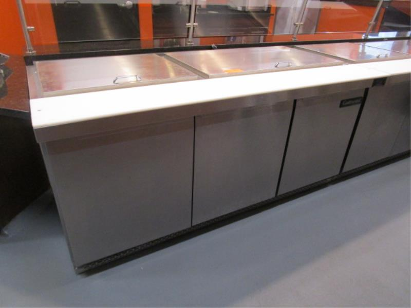 Continental Pizza or Sandwich Prep Unit, Model: SW72, SN: 15758737 - Image 2 of 6