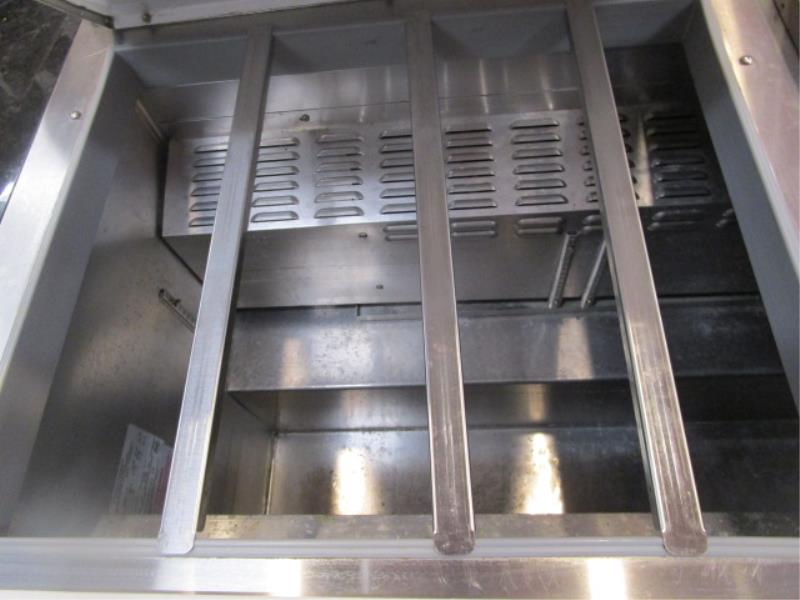 Continental Pizza or Sandwich Prep Unit, Model: SW72, SN: 15758737 - Image 3 of 6