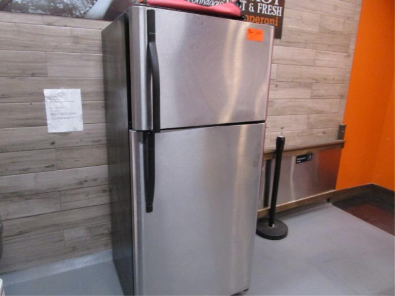 Kenmore Stainless Steel & Black Enamel Refrigerator, Made 2007, Model: 253-6482340E, SN: BA74023935 - Image 2 of 4